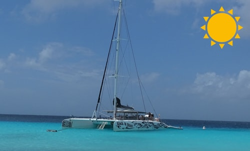 BlueFinn Charters Catamaran