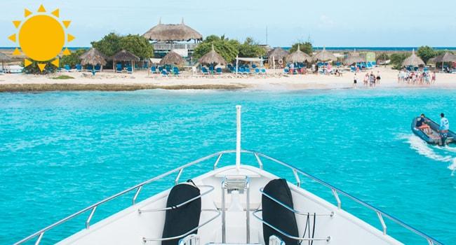 Goedkoop naar Klein Curacao